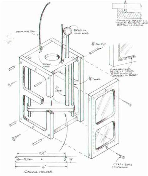 contemporary candle lantern furniture designs woodworking archive