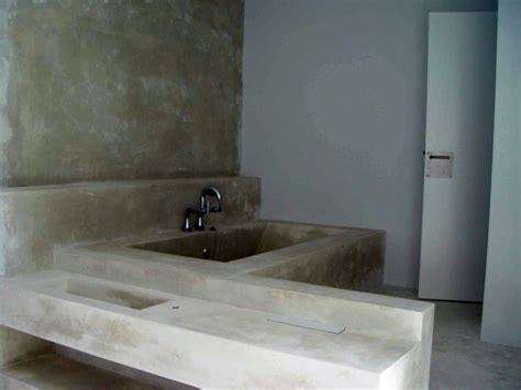 foto banera  encimera de lavabo en ytong hormigon