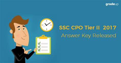 english 2 released form answer key ssc cpo apply online 2018 last date to apply online