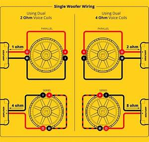 One 4 Ohm Kicker Amp Wiring Diagram