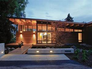 Modern Custom Home Builders Seattle Exterior of Northwest ...