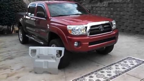 Toyota Tacoma Skid Plate by Toyota Tacoma Factory Skid Plate Intallation