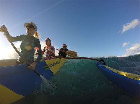 Canoes Surf by Canoe Surfing Tours Surf With An Outrigger Canoe
