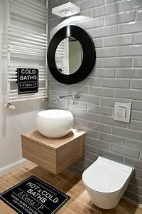 59 salles de bain chic qui vous montrent le beaute du With carrelage metro salle de bain