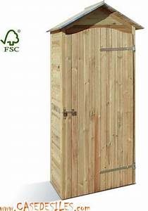 Rangement Jardin Bois : meuble de rangement de jardin meuble armoire de jardin bois ~ Zukunftsfamilie.com Idées de Décoration