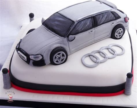 audi  cake le torte  michy cake design pinterest