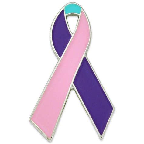 thyroid cancer ribbon color thyroid cancer awareness ribbon pin pinmart