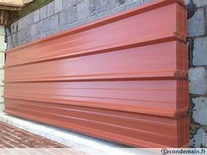 Toiture Bac Acier Prix : tole bac acier couverture toiture toles bardage neuf ~ Premium-room.com Idées de Décoration