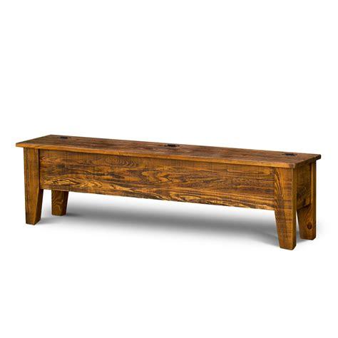 rustic storage bench rustic shaker storage bench