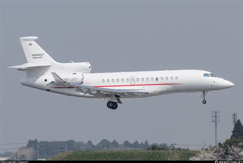 HB-JSD Private Dassault Falcon 8X Photo by Kazuma U | ID ...