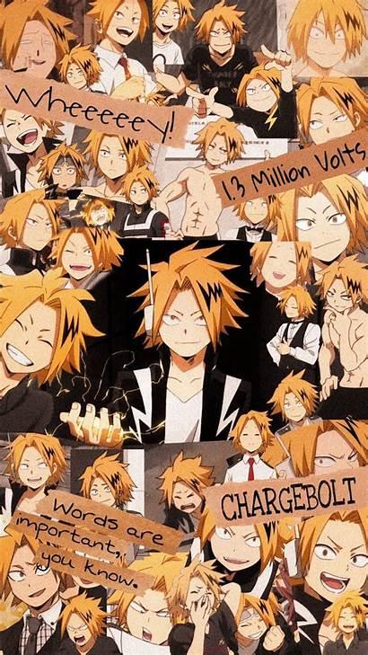 Denki Bnha Kaminari Anime Mha Collage Chargebolt