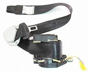 Lh Front Seat Belt 03-05 Vw New Beetle Seatbelt Black - Genuine