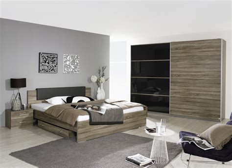chambre contemporaine grise chambre adulte contemporaine chêne basalt maine