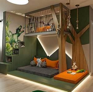 12, Amazing, Dinosaur, Inspired, Bedrooms, For, Kids, Ideas, U0026, Inspo