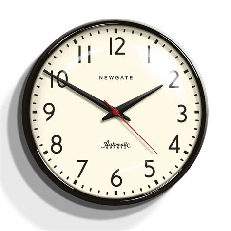 buy newgate clocks watford clock black amara