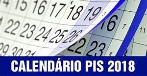 Calendário PIS 2018