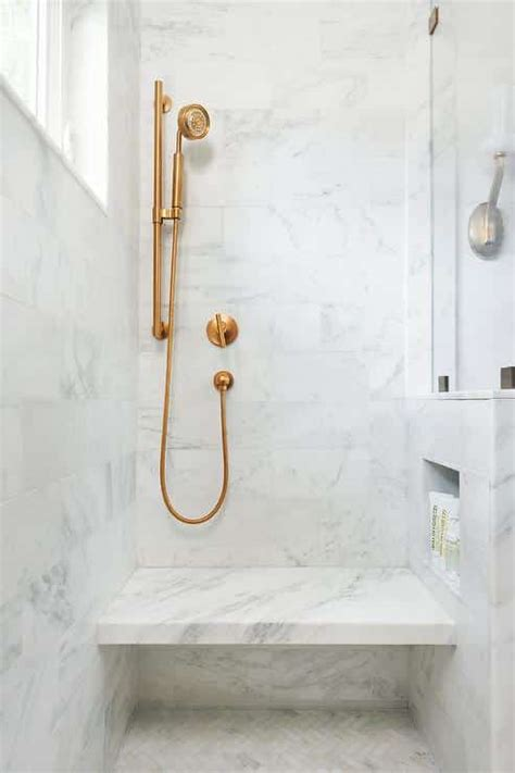 What Material Should You Use for a Shower Bench   Love