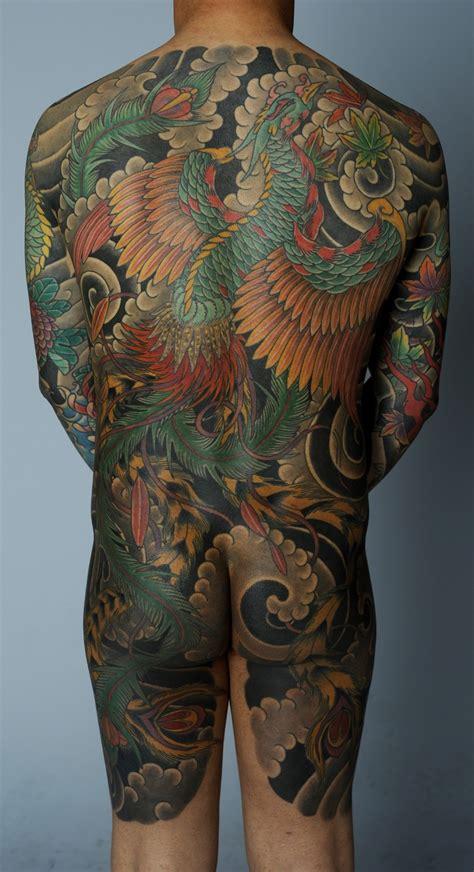 japanese phoenix  piece  david sena japanese
