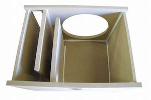 "Custom Single Vented Sub woofer Box 10"" 3/4""MDF ..."