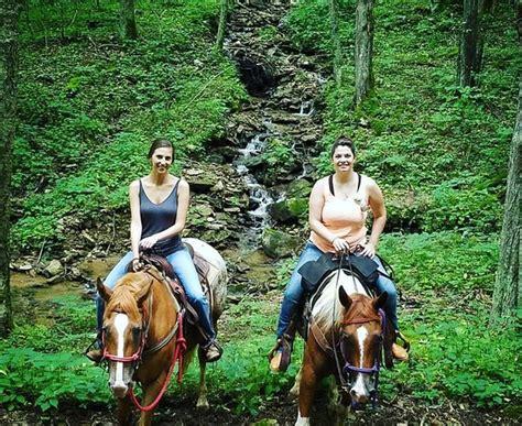 riding north carolina laurel wolf horseback advisor trip trail nc summer mountain onlyinyourstate asheville