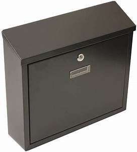 steel wall mounted postbox lockable flip lid mail letter With wall mounted letter box