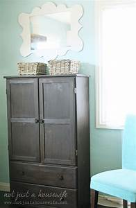 Armoire Turned Computer Cabinet Not JUST A Housewife