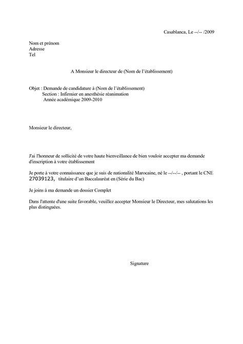recette de canapé exemple de demande manuscrite de candidature