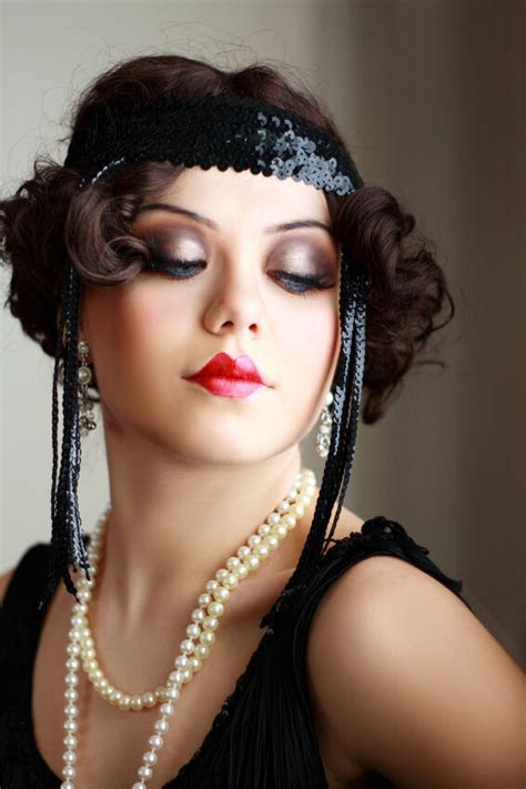 20s Inspired Hairstyles by Top 5 1920s Inspired Onyx Jewelry Ebay
