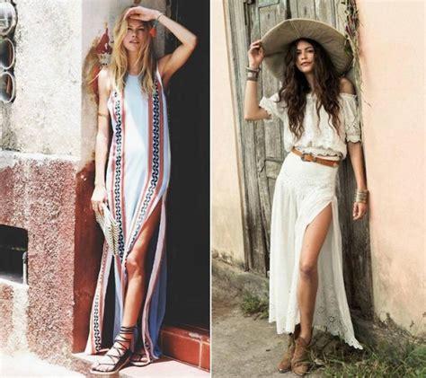 vetement femme stylé robe hippie chic blanche pas cher ensconet
