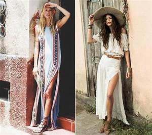 style hippie chic 2017 With robe longue boheme chic 2017