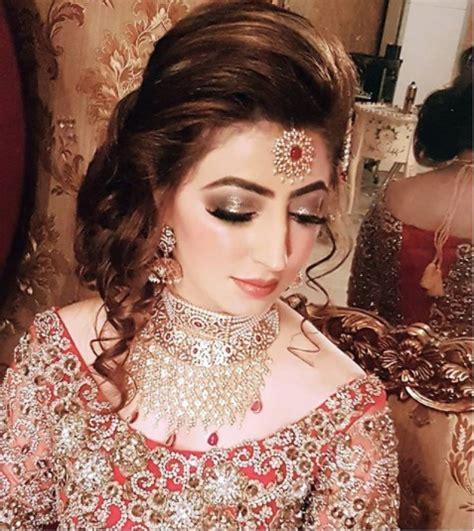pakistani actress long hair latest pakistani bridal hairstyles 2018