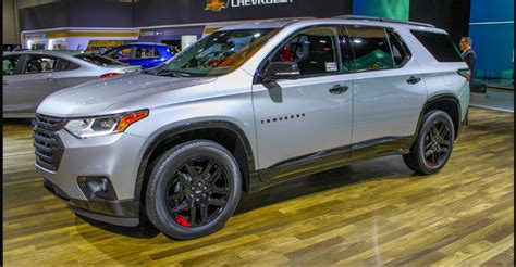 2019 Chevrolet Traverse Redline Edition Price 2018
