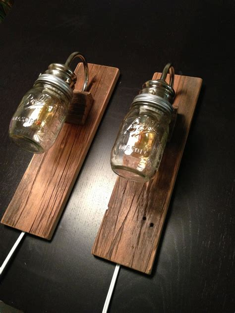 rustic wall mounted lighting rustic bedside ls made