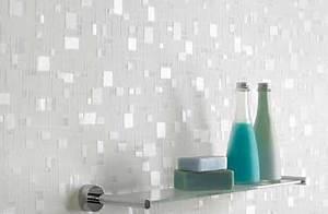 Papier Peint Pour Salle De Bain : papier peint salle de bain sp cial douche et murs ~ Dailycaller-alerts.com Idées de Décoration