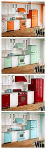 best 25 modern retro kitchen ideas on pinterest reno With kitchen colors with white cabinets with red sox stickers