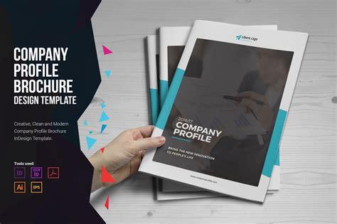 company profile brochure design
