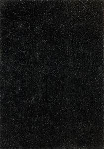 Teppich Mit Glitzer : lalee 347149667 designer hochflor shaggy teppich handarbeit weicher langflor glitzer uni schwarz ~ Frokenaadalensverden.com Haus und Dekorationen
