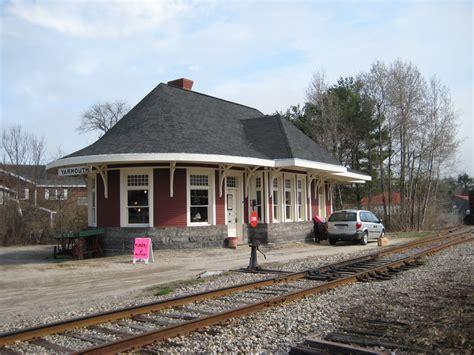 Fileold Yarmouth Railway Station, Yarmouth, Maine 2jpg