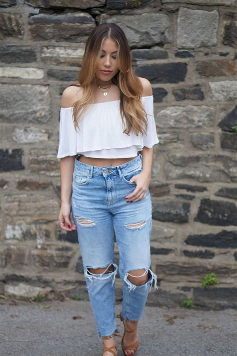 82 best Boyfriend Jeans Outfits images on Pinterest | Boyfriend jeans outfit Denim outfits and ...