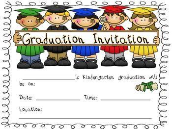 kindergarten graduation invitations by kindergarten 270 | original 710703 3