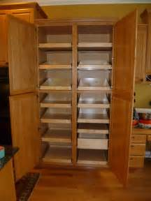 Oak Kitchen Pantry Storage Cabinet by Cabinet Pantries Seattle By Shelfgenie Of Seattle