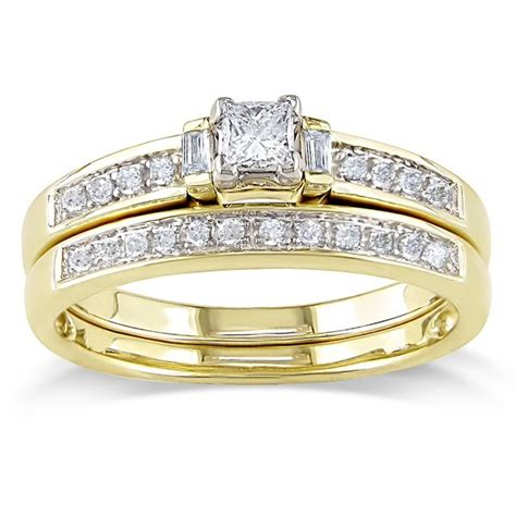 discount limited time offer intriguing bridal ring half carat princess cut