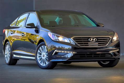 Hyundai Midsize by 2015 Hyundai Sonata Midsize Sedan Is Livin Large
