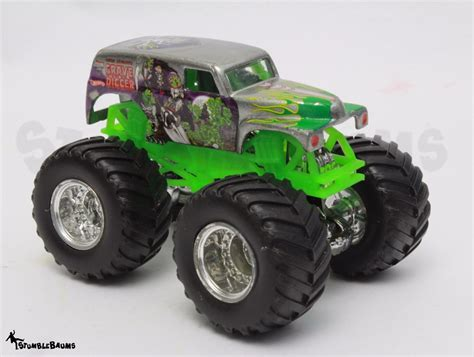 wheels monster truck grave digger wheels monster jam silver grim vum grave digger die