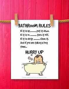 kids bathroom art humor decor bathroom by weloveprintableart With funny words for bathroom