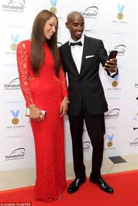 Mo Farah and wife Tania take selfie at Night of Champions ...