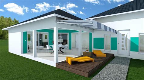 chambre avec salle de bain ouverte et dressing modèles de construction maisons egoïne caraïbe