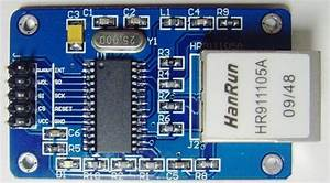 Wiring The Enc28j60 Ethernet Module On Arduino With Relay