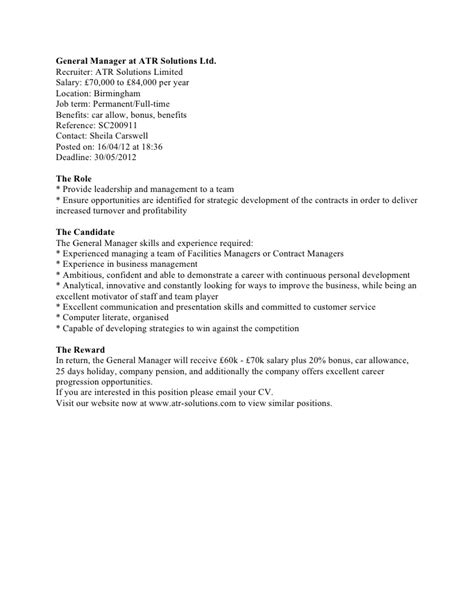 Contoh Cover Letter In by Contoh Application Letter Untuk Internship