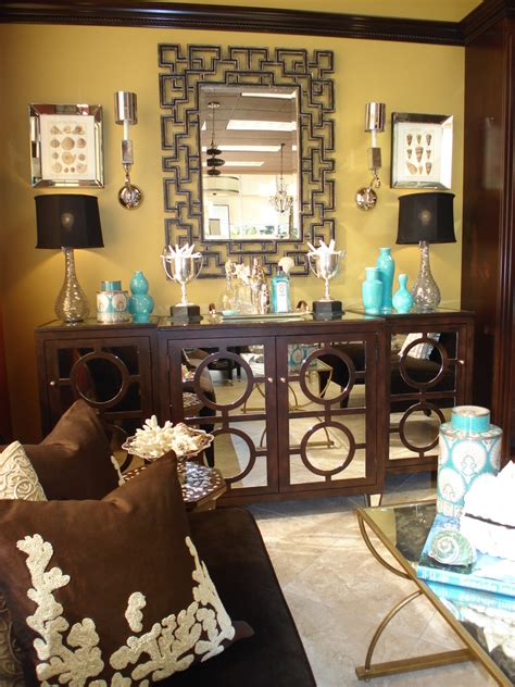 glamorous sideboard buffet  living room traditional